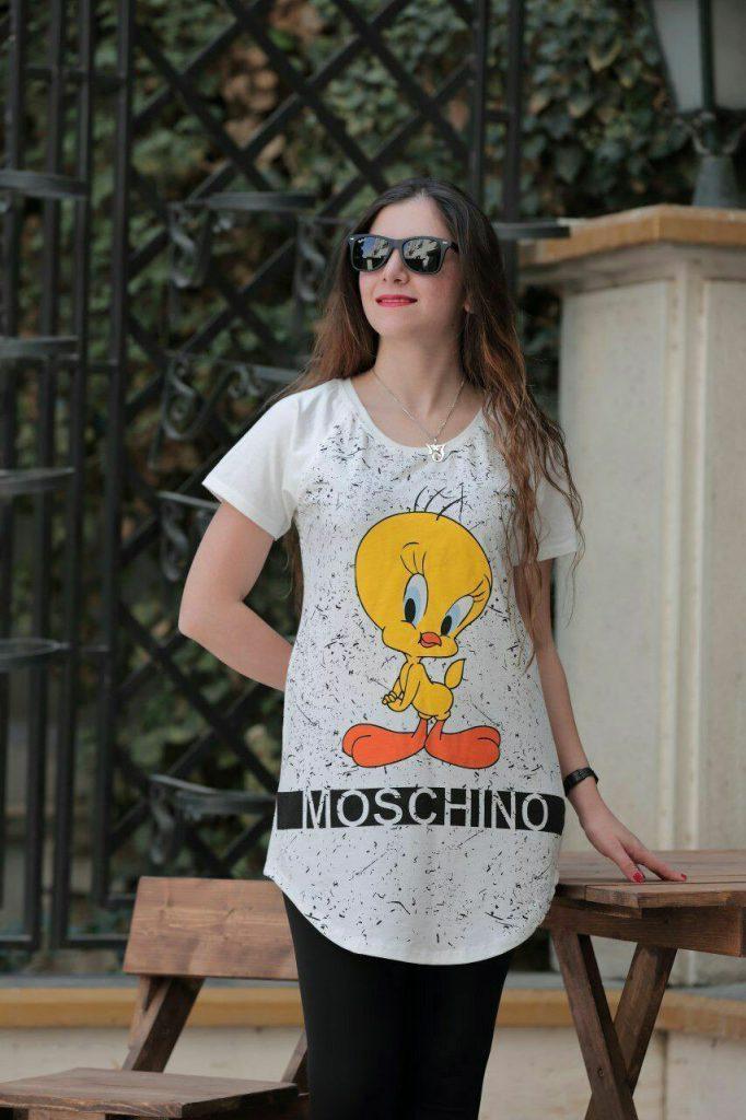 مدلهای تیشرت زنانه